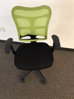Office chair with rip in back for Sale in Golden, CO