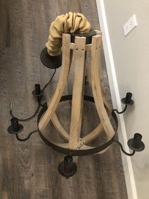 Rustic chandelier for Sale in Houston, TX