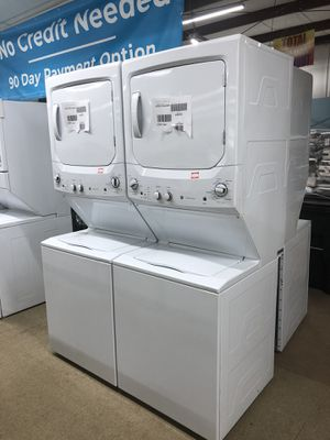 Brand New Ge Stackable Washer and Dryer unit set on sale for Sale in Norcross, GA