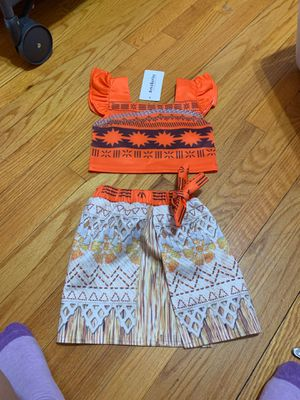 Moana birthday outfit for Sale in Chicago, IL
