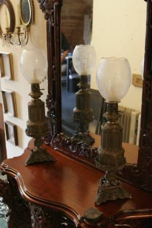 ANTIQUE BRONZE EUROPEAN LAMPS - $1499 (Lakewood) for Sale in Puyallup, WA
