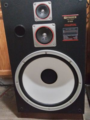 Fisher 15 inch speakers for Sale in Denver, CO