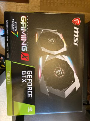 Graphics gaming card for Sale in Fall River, MA