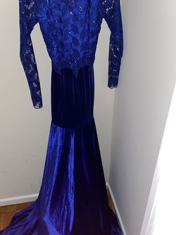 blue classy dress for Sale in Washington,  DC