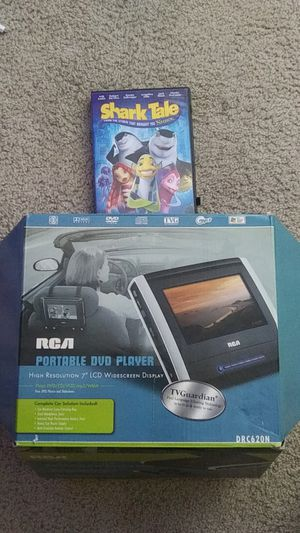 Portable dvd player like new plus dvd for Sale in Federal Way, WA
