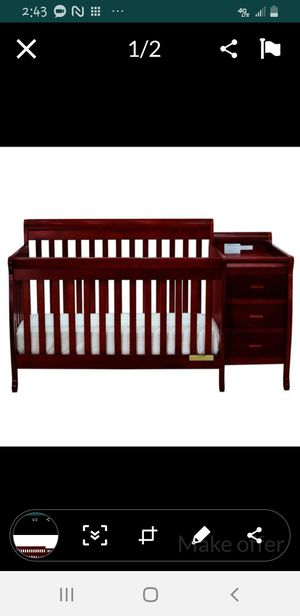 Baby Crib and Changing Table Combo for Sale in Irving, TX
