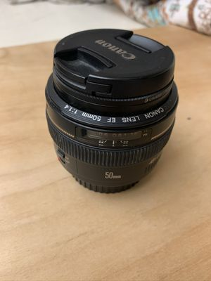 Canon 50mm 1.4 for Sale in Lakeside, CA
