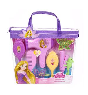 Disney princess Rapunzel Hair styling Tote for Sale in Austin, TX