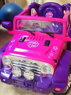 My Little Pony Jeep Battery Powered Ride-on Car for Sale in Hoffman Estates,  IL