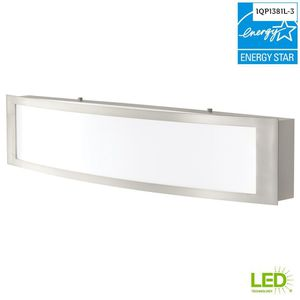 H.D. Collection 180-Watt Equivalent Brushed Nickel Integrated LED Vanity Light for Sale in Dallas, TX