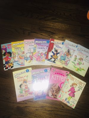 Fancy Nancy books collection with a couple others for Sale in Schiller Park, IL