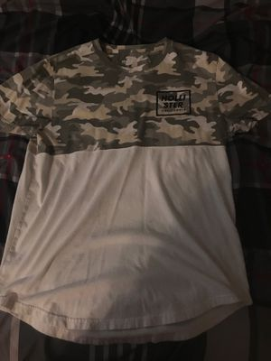 Camo hollister shirt for Sale in Tampa, FL