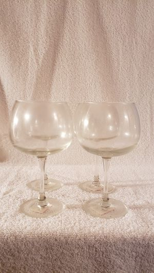 Luminarc Oversized Glasses-set of 4 for Sale in Palmyra, VA