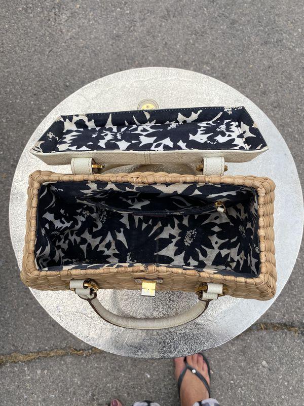 Vintage Kate Spade picnic basket handbag