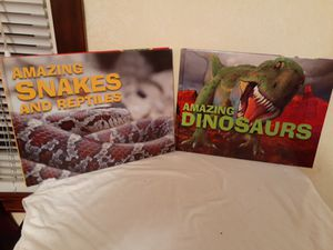 Amazing Dinosaurs and reptiles books for Sale in Hemlock, MI