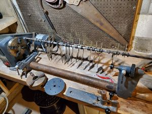 Sears / Craftsman wood lathe. 1hp, many extras! for Sale in Southbury, CT