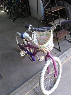 Schwinn ready to ride girls 20 inch for Sale in Bakersfield, CA