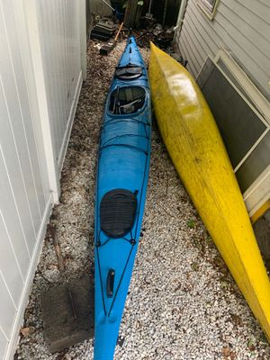 2 sea Kayaks & Car Racks for Sale in Central Falls, RI