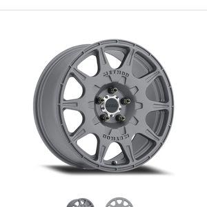 "Method 502 Rally Wheels Titanium 17"" for Sale in North Las Vegas, NV"