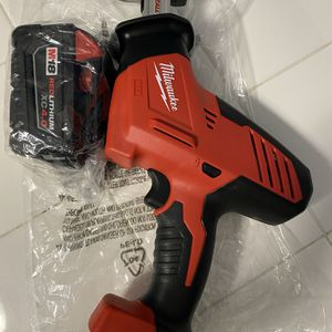 M18 18-Volt Lithium-Ion Cordless Hackzall Reciprocating Saw 4.0Ah for Sale in El Cajon, CA