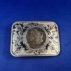 Morgan Silver Dollar Belt Buckle for Sale in Herndon,  VA