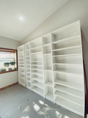 Lot of IKEA Billy Bookcases for Sale in Granger, TX