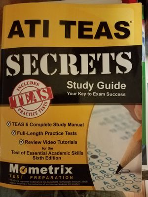 TEAS study guide for Sale in Los Alamitos, CA