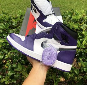 Nike Air Jordan 1 Retro High 'Court Purple' - DSWT - Sz 12.5 for Sale in Lutz, FL