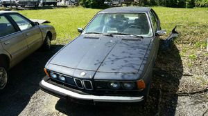 80 BMW 633csi for Sale in East Riverdale, MD