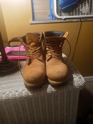 Wheat temberland work boots for Sale in Columbus, OH