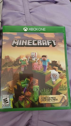 Mine craft xbox game for Sale in Greenville, WI