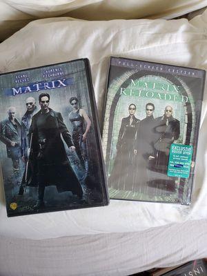 Matrix + Matrix Reloaded new DVDs for Sale in Largo, FL