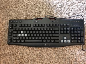 Logitech g105 gaming keyboard PC for Sale in Durham, NC