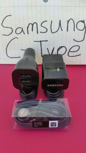Black Samsung S9 S8 Combo Set Bundle Brand New for Sale in Lincoln Acres, CA