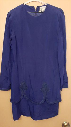Vintage silk dress made in Hong Kong for Sale in Scottsdale, AZ