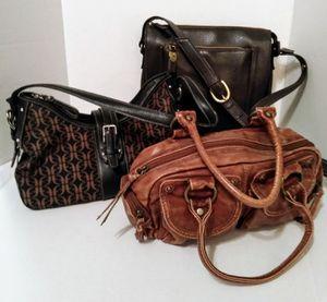 Lot of 3 Women's Bags Purses for Sale in Sheridan, AR