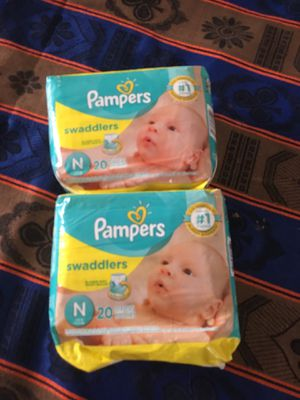 Take newborn diapers $12 for Sale in Lakewood, CA