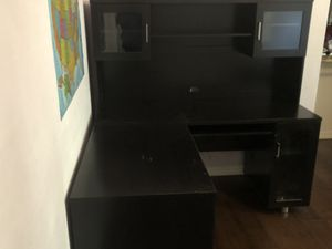 Z line Desk with hutch and lot of storage for Sale in Chandler, AZ