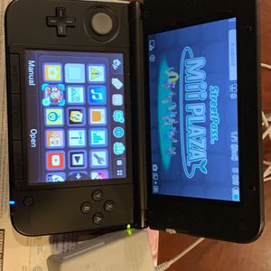 Nintendo 3DS XL with preinstalled Mario & Luigi Dream team game and includes 4G SD card for Sale in Saratoga, CA