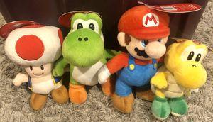 Super Mario Bro's Plushies for Sale in Los Angeles, CA