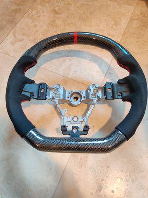 OLM Alcantara Carbon Pro Steering Wheel 2015+ WRX Sti for Sale in Anaheim, CA