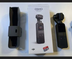 DJI OSMO POCKET, 64gb SD CARD AND TRIPOD MOUNT for Sale in Orlando, FL