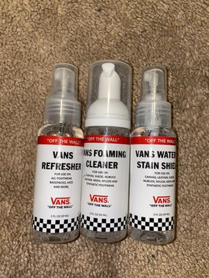 Vans shoe care kit travel size for Sale in Riverside, CA