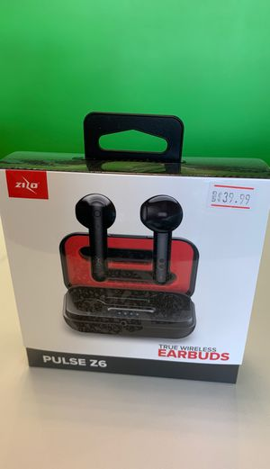 Pulse Z6 earbuds for Sale in Menomonie, WI