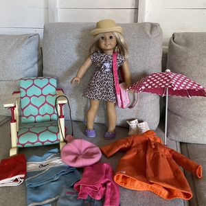 American Girl Doll with Accessories for Sale in Huntington Beach, CA