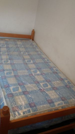 Twin size bed brand new still for Sale in Cleveland, OH