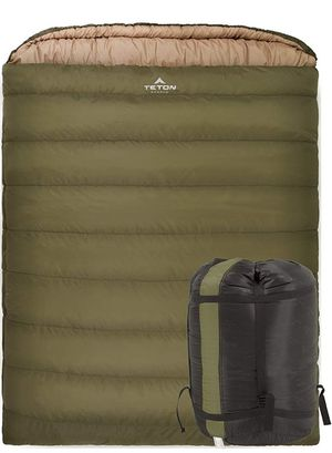 Teton sports mammoth 0 f sleeping bag double wide for Sale in San Diego, CA