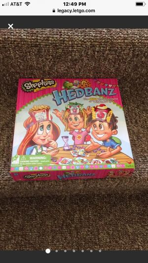 Lightly Used Shopkins Headbands Game for Sale in Berwyn, IL