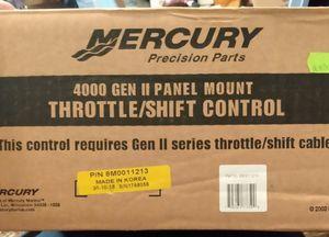 Mercury Precision Parts 4000 Gen II Panel Mount Throttle/Shift Control for Sale in Oklahoma City, OK