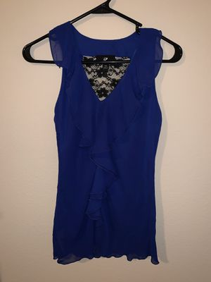 Xsmall cute blue blouse for Sale in Bee Cave, TX